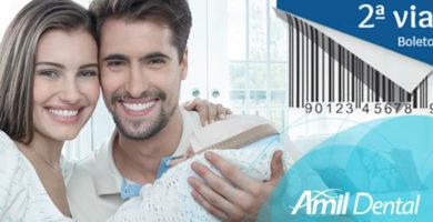 Amil Dental boleto digital